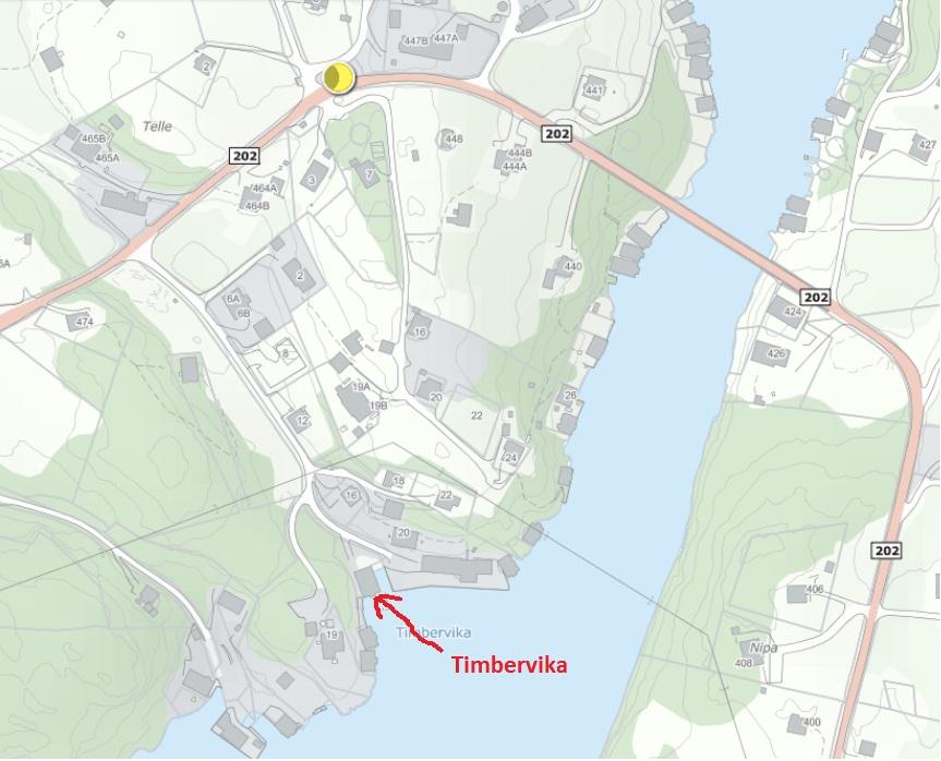 Kart Timbervika